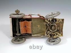 1903 Early LEHMANN TUT TUT Man in Open Car with HornFantastic German Tin Toy