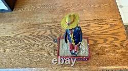 1920 German Lehmann Tin Windup Alabama Coon Jigger # 685 / Box