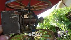 1920's Antique Vintage Lehmann Masuyama Tin Wind-up Toy German Rare