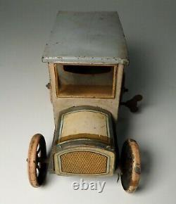 1920's Bing Germany Tin Litho Wind up Sedan Car Limousine Taxi Tippco Marklin