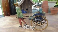 1920's Vintage Lehmann Masuyama Tin Wind-up Toy Great Colors