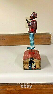 1920s Unique Art Jazzbo Jim Roof Dancer Works good / Box