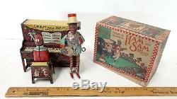 1921 STRAUSS Ham & Sam Minstrel Team withBox Working Excellent Condition