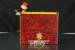 1922 Strauss Ham & Sam Minstrel Band Tin Wind Up Toy Vintage Black Americana
