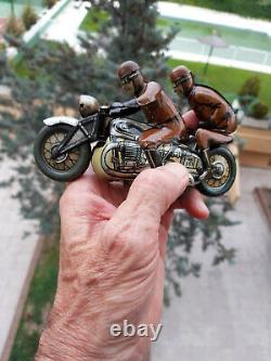 1930 Windup Tin Cko Kellermann 353 Sozius Motorcycle