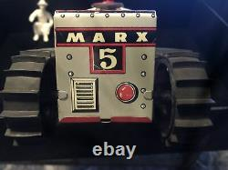 1950s Marx Climbing Tractor With OB