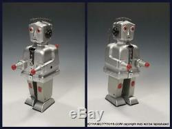 1955 German ROBOT ST1 with SCARCE ORIGINAL BOXPristine Wind Up Robot