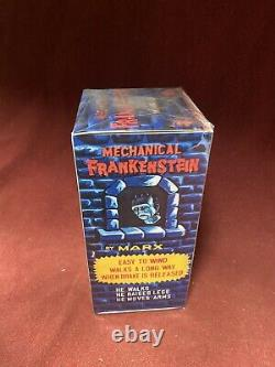 1960s MARX FRANKENSTEIN WIND-UP TOY VINTAGE ROBOT MONSTER with Box