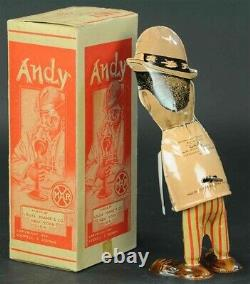 (2) Vintage 1920s Marx Amos N Andy Wind Up Toys with ORIGINAL BOXES PRISTINE