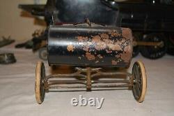 Acme 1901 Oldsmobile Tin Toy Wind Up Horseless Carriage Original Paint