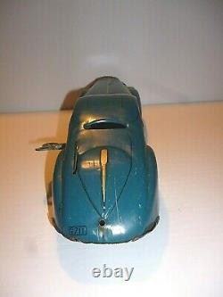 All Original Large 13 Marx Wind Up Streamline Pressed Steel Coupe Lonsome Pines