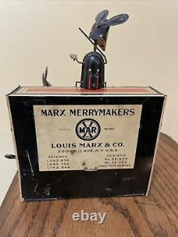 Antique 1931 MARX MERRY MAKERS without Marquee Or Drummer
