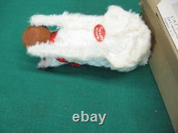 Antique German Wind Up Cat Drinking Milk Licking Jumping Tail Moves + Key + Box