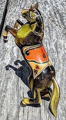 Antique Germany Arnold Automaton Horse Tin Toy 100% Orig. WORKS
