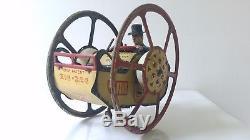 Antique Vintage Lehmann Zig Zag Zick Zack Wind-Up Tin Litho Toy WITH BONUS ITEM