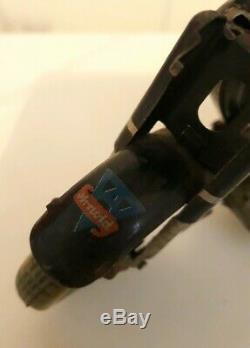 Arnold Mac 700 tin motorcycle vintage toy, clockwork windup, Germany RARE