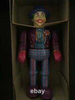 Batman Joker Tin Toy with Key Billiken Made in Japan 1990s Free Shipping