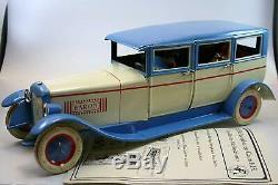 DBS Germany Original Luxus Limousine Baron 35 cm Lehmann Modell Gala Oldtimer