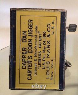 Dapper Dan Tin Jigger Wind Up Toy From 1910