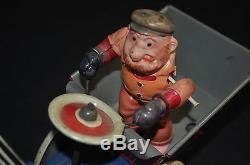 Dippy Dumper Wind-Up Vintage Tin Toy Working Marx Toys (1930s) ITB WH