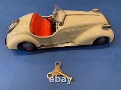 Distler BMW 3150 Tin Wind Up car, Germany 1950s