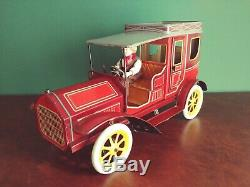 Exceedingly Rare c. 1915 Large GBN BING Tin Wind-up Kaiser Deluxe Limousine