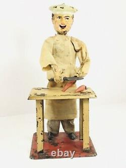 Ferdinand (Fernand) Martin The Little Cook French Made Antique Windup Toy