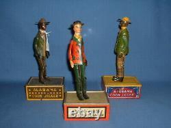 Ferdinand Strauss Working Tin Windup Tombo the Alabama Coon Jigger Toy