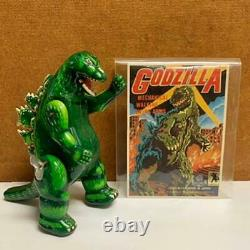 Godzilla Tinplate Wind-Up Toy Movable Items Billiken Vintage From Japan Used
