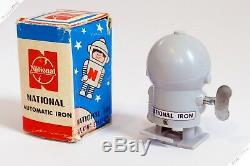 Horikawa Masudaya Nomura National Space Man Robot Tin Wind Up Japan Vintage Toy