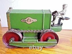 J. C. Penny Little Jim Plaything Wind-up Tractor By Kingsbury