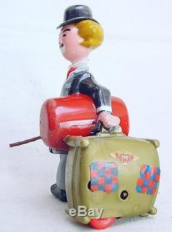 Juguetes Roman Spain CHARLIE CHAPLIN Character Wind-Up Plastic Figure MIB`60 TOP