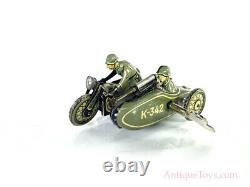 Kellerman German Tin Motorcycle Windup CKO K-342