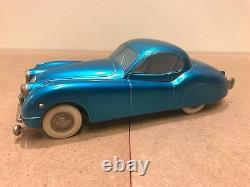 Kolner Prameta Jaguar XK120 Turquoise Blue 1950's Vintage (Very Rare) Windup