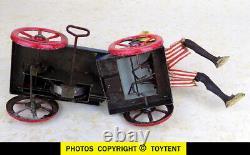 L'Autopatte mechanical fruit vendor Fernand Martin Toys Paris 1910 SEE MOVIE