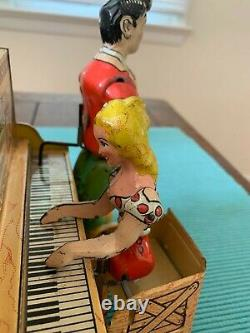 Lil Abner and his Dogpatch Band Wind-Up Toy WORKS! Vintage Wind Up Toy