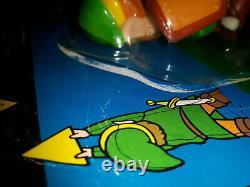 Link Legend Of Zelda Nintendo NES 1989 Wind-up Vintage Toy Rare Brand New