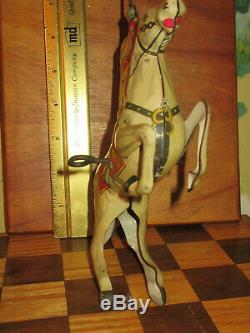 Lone Ranger& Silver vintage 1938 MARX metal toy