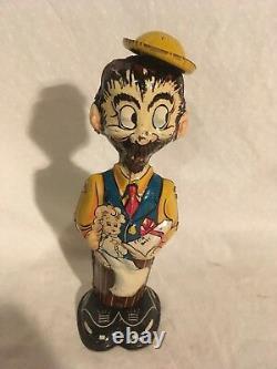 Louis Marx BO Plenty Walker Tin Wind Up Toy 1930s