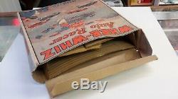 Louis Marx Co. Tin Windup Whee-whiz Auto Racer Toy With Box, All Original, Rare