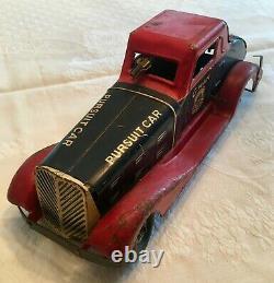Louis Marx G-man Justice Pursuit Car, Original, Great Condition ($500 Obo)