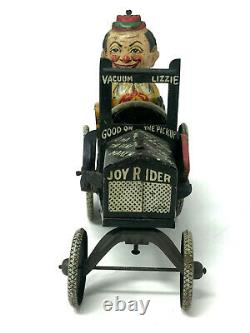Louis Marx Joy Rider Wind-Up, Vintage 1920's, Tin Litho