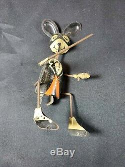 MARX MERRY MAKERS TIN LITHO WIND UP working condition