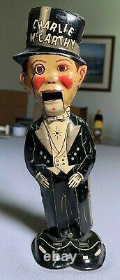 MARX TIN WIND UP CHARLIE McCARTHY 1920's