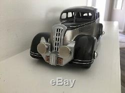 MARX / WYANDOTTE 1930'S Large 10 Pressed Steel Car Toy VINTAGE RESTO MOD A+++