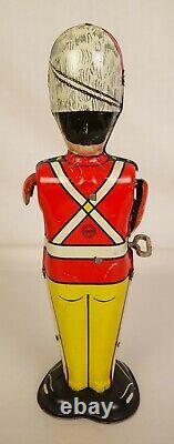 Marx Antique Tin Litho George The Drummer Boy Windup Drummer-near Mint In Ob