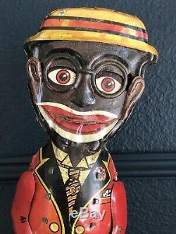 Marx Mammys Boy All Original Wind Up 1940s Tin Americana Toy