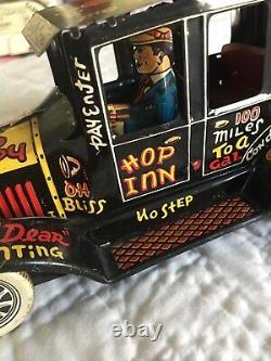 Marx Old Jalopy- Vintage 1950's Era Tin Toy Wind Up