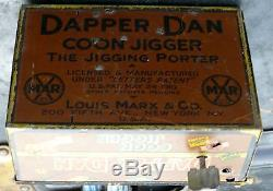Marx Tin Wind Up New York 1910 Earliest Porter Dapper Dan Black Americana