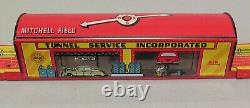 Marx USA Mystery Tunnel Windup car set Original Box Exceptional Condition